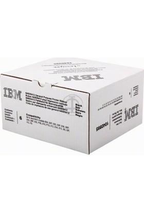 Lexmark Ibm - Lexmark 6400 / 6412 1040995 Siyah Şerit 6Lı Paket