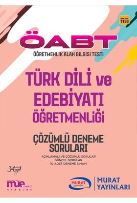 ÖABT Türk Dili ve Edebiyatı Öğretmenliği Çözümlü 10 Deneme Soruları Murat Yayınları