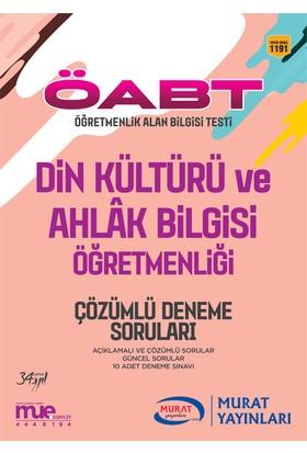ÖABT Din Kültürü ve Ahlak Bilgisi Öğretmenliği Çözümlü 10 Deneme Soruları Murat Yayınları