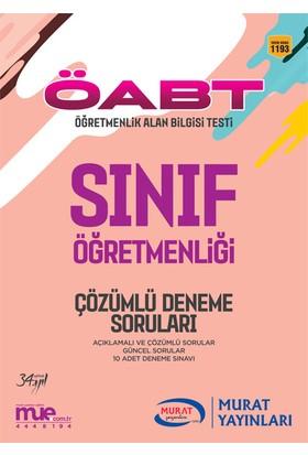 ÖABT Sınıf Öğretmenliği Çözümlü 10 Deneme Soruları Murat Yayınları