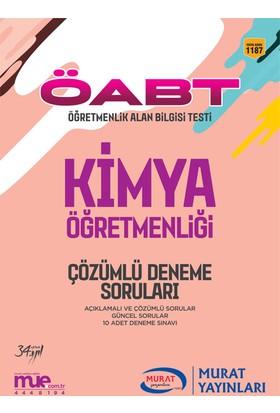 ÖABT Kimya Öğretmenliği Çözümlü 10 Deneme Soruları Murat Yayınları