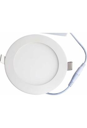 Econa Premium 6 Watt 6500K Beyaz Işık Slim Panel Led