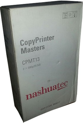 Nashuatec 893017 Cp450 A3 Master N16Cpmt13 Type 13