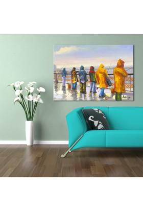 Hepsiburada Home Balıkçılar Canvas Tablo