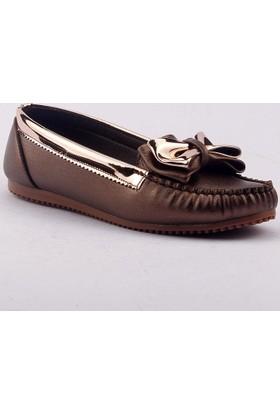 Caprito Y-019 Günlük Ortopedik Papyonlu Bayan Ayakkabı