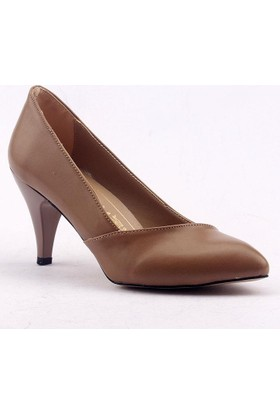 Mangom-Legend İnce Topuk Çapraz Cilt Bayan Ayakkabı