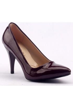 Paddy 2535 İnce Topuk Stiletto Bayan Rugan Ayakkabı