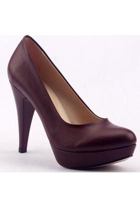 Paddy 2735 İnce Topuk Stiletto Bayan Cilt Ayakkabı