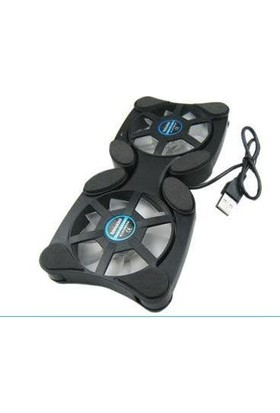 Alfais 4935 Laptop Altı Soğutucu Fan Katlanabilir