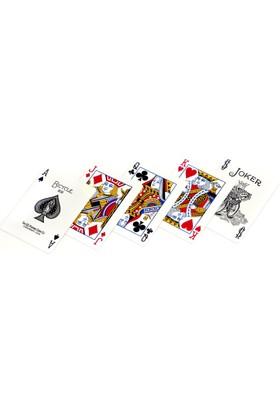 Bicycle Standart Poker İskambil Oyun Kağıdı (2 Tarafı Yazılı Oyun Kartı Mavi)