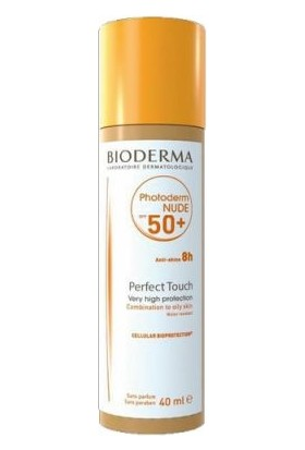 Bioderma Photoderm Nude Touch Spf50+ Renkli Güneş Koruyucu 40 Ml