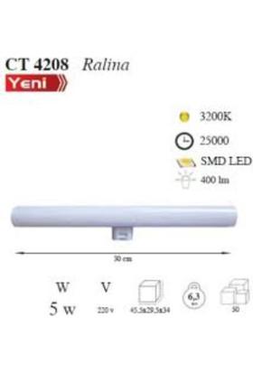 Cata Ct-4208 5 Watt (35 Watt) Ralina Led Ampul
