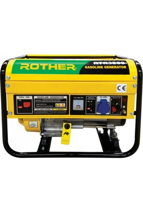 Rother Rtr3500 Benzinli İpli Jeneratör 2, 5/2, 7 Kva