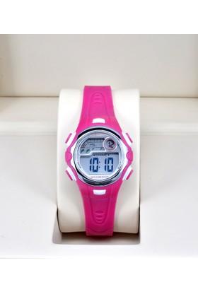 Spectrum -Dijital, 30Mt Su Geçirmez, Pembe Renk, Full Fonksiyon Kız Çocuk Kol Saati