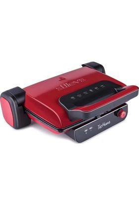 Stilevs Tosthane Granit Tost Makinesi Kırmızı
