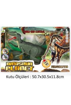 Toysetoys Uzaktan Kumandalı Robot Dinazor Velociraptor Full Fonksiyon