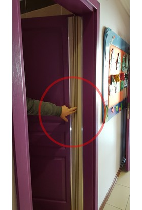 Agubugu Baby Körüklü Parmak Koruyucu Menteşe Kapı Sistemi
