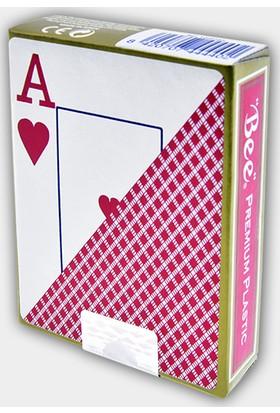 Bee Jumbo Plastik Poker İskambil Oyun Kağıdı Destesi