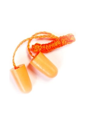 Ear Plug İpli Köpük Kulak Koruyucu 2 Adet