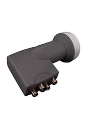CresCent Bireysel Antenler İçin 4 Çıkışlı Ultra Hd 4K Uyumlu Quad Lnb