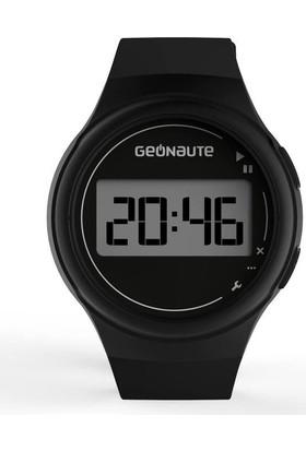 Geonaute W100 M Kronometreli Dijital Erkek Spor Saati - Siyah
