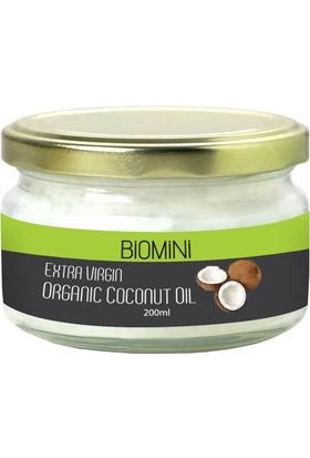 Biomini Organik Hindistan Cevizi Yağı 200 ml.