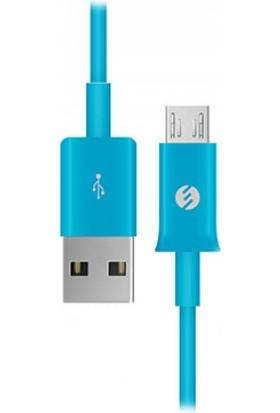 S-Link Smg-140 1300Ma Micro Usb Akıllı Telefonlar Tablet İçin Mavi Data + Şarj Kablosu