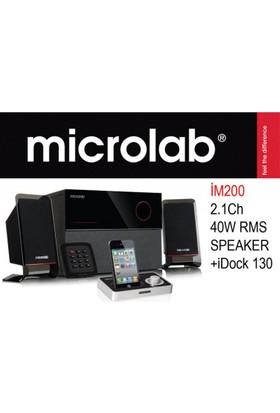 Microlab Microlab İm 200 2+1 40W Rms İdock 130 Speaker