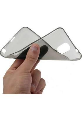 Serhan Samsung P580 P585 10.1 İnç Kalemli Model Tablet Süper Füme Silikon Kılıf+Kalem+9H Kırılmaz Cam