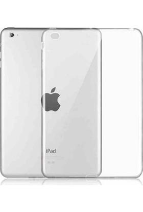 Serhan Apple iPad New 9.7 2017 Tablet Süper Şeffaf Silikon Kılıf+Kalem