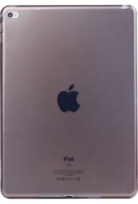Serhan Apple iPad 2/3/4 Tablet Süper Füme Silikon Kılıf+Kalem