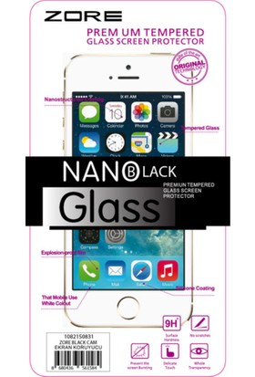 Zore Xiaomi Redmi Note 3 9H Temper Koruyucu+ Silikon Kılıf