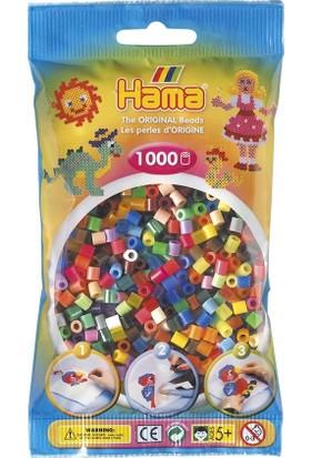 Hama Beads 1.000'lik Hama Midi Boncuk - Karışık 50 Renk
