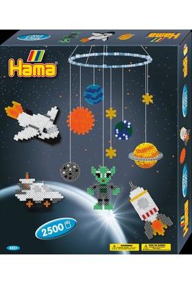 Hama Beads Boncuk Kutu - Galaksi Askıda