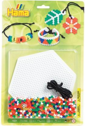 Hama Beads Boncuk Büyük Blister Set - Neon Takılar