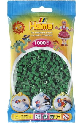 Hama Beads 1.000'lik Hama Midi Boncuk - Yeşil