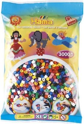 Hama Beads 3.000'lik Hama Midi Boncuk - 10 Renk