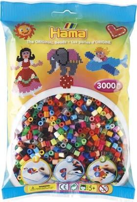 Hama Beads 3.000'lik Hama Midi Boncuk - 50 Renk