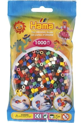 Hama Beads 1.000'lik Hama Midi Boncuk - 22 Renk
