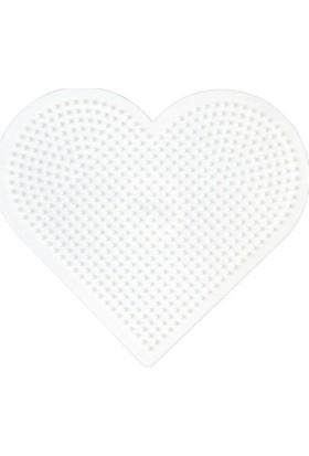 Hama Beads Midi Boncuk Tablası - Büyük Kalp