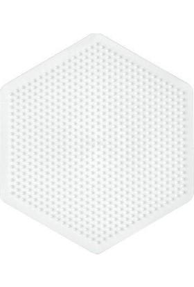 Hama Beads Midi Boncuk Tablası -Büyük Altıgen