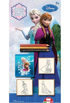 Multi Print Karlar Ülkesi - Frozen Damga / 3'lü Set