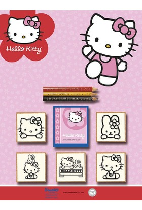 Multi Print Hello Kitty Damga / 5'li Set