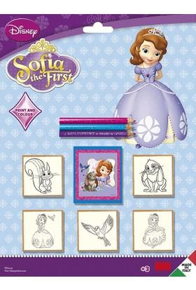 Multi Print Prenses Sofia Damga / 5'li Set