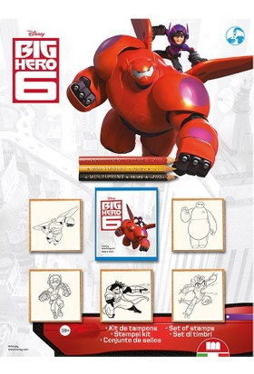 Multi Print 6 Süper Kahraman Damga / 5'li Set