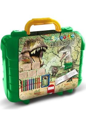 Multi Print Dinozorlar Damga / Seyahat Seti