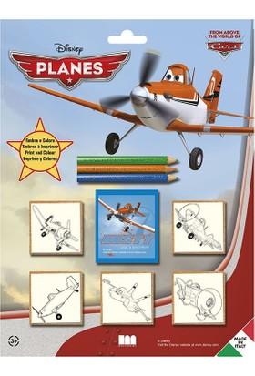 Multi Print Disney Uçaklar Damga / 5'li Set