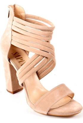 Sapin 25560 Kadın Topuklu Ayakkabı