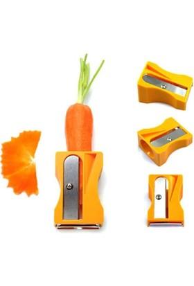 Wildlebend Kalemtraş Havuç Soyacağı Carrot Sharpener