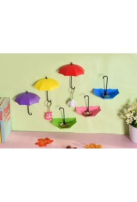 Wildlebend Dekoratis Şemsiye Askı (4lü Set)